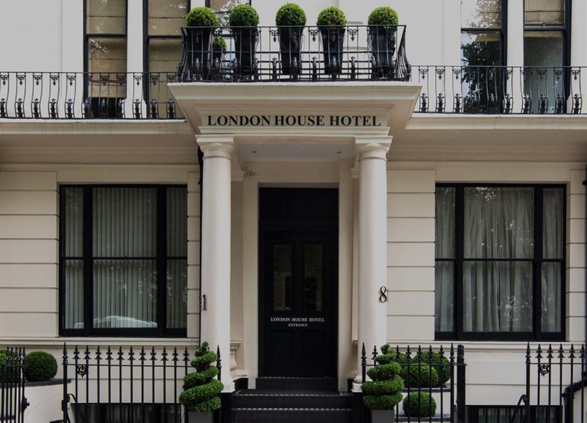 London House Hotel In Kensington Garden Square