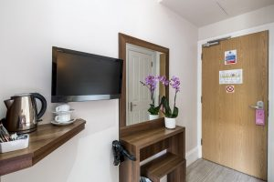 Standard twin room view - LHH